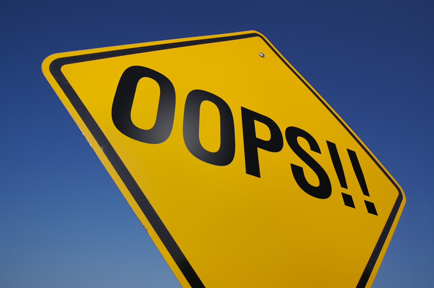 Opps sign blog comment marketing mistakes