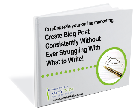 Online marketing help: Create Blog Post Consistently